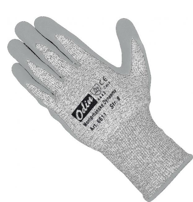 Wenaas Odin 6-6611 CutMaster +Dyneema Unisex Gloves Cut 4 High Abrasion & Cut Resistance 4.4.4.2