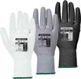 Portwest VA120 Unisex Nylon PU Palm Coat General Handling Protection Work Gloves
