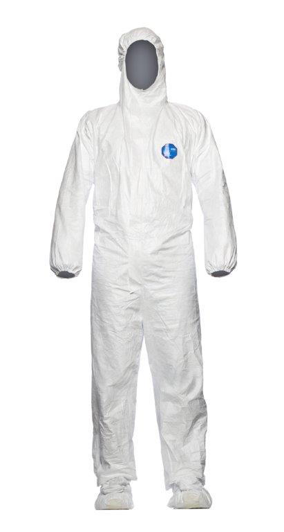 Dupont Tyvek Chf7 S-3Xl White Disposable Coverall Pack of 5