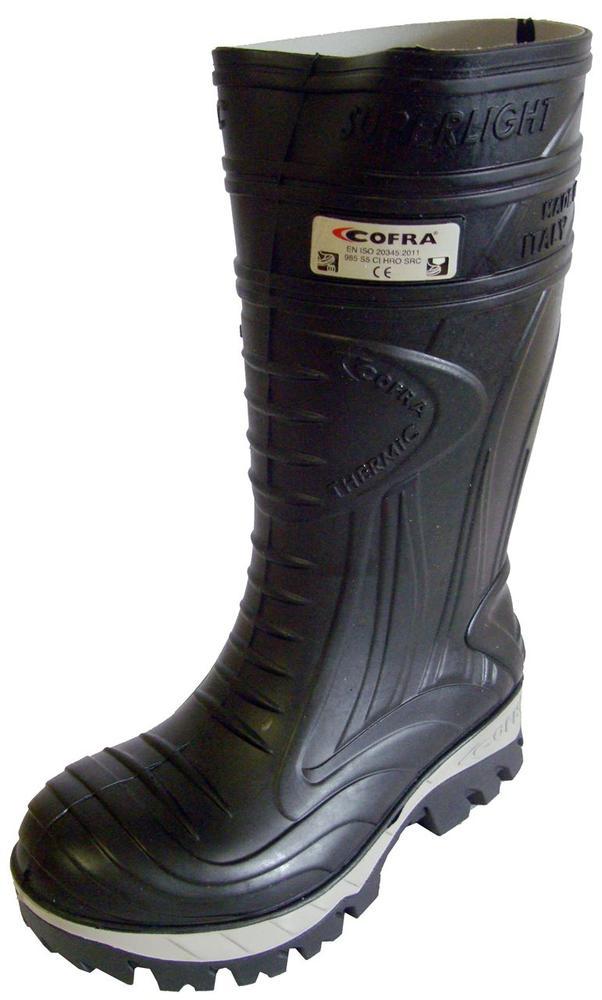 Cofra Thermic Cold Insulation -25°C Non-Metallic S5 Safety Wellington Black