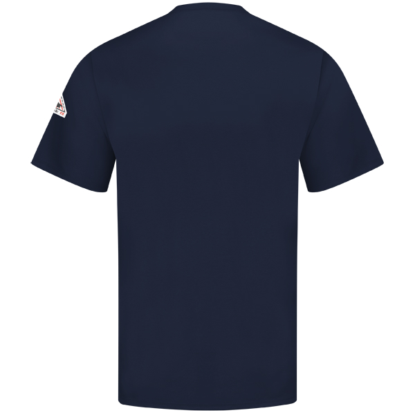 Bulwark T-Shirt SET8NV Short Sleeve Navy Fr Arc Resistant Cat 2 Rating