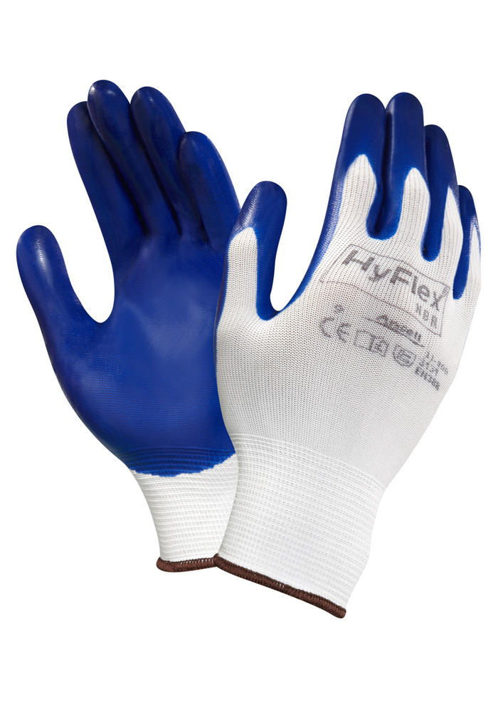 Ansell Marigold 11-900 Hyflex Work Gloves Oil Repellency and Abrasion Resistance  3.1.3.1