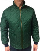 Jacket Flame Retardant Thermal FR Quilted Green
