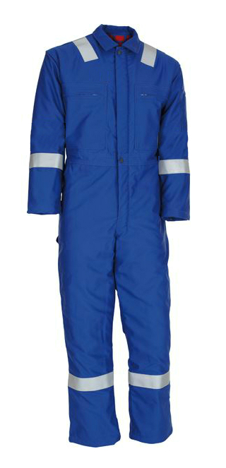 Nomex Comfort 3A FR Insulated Arc Flash Protection Coverall, Royal blue