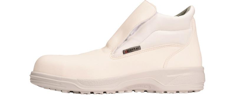 Cofra Lamar S2 SRC Safety Slip on White Boot Steel Toe Cap