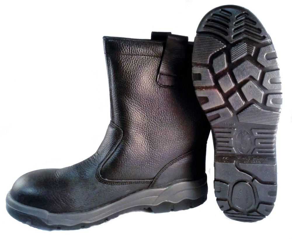 Tiger Steel Devon Fur Lined S3 Safety Rigger Boots