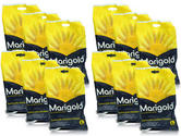 Marigold G43Y 320mm. Triple Dipped Household Rubber Gloves 12 Pairs, Size - 9.5