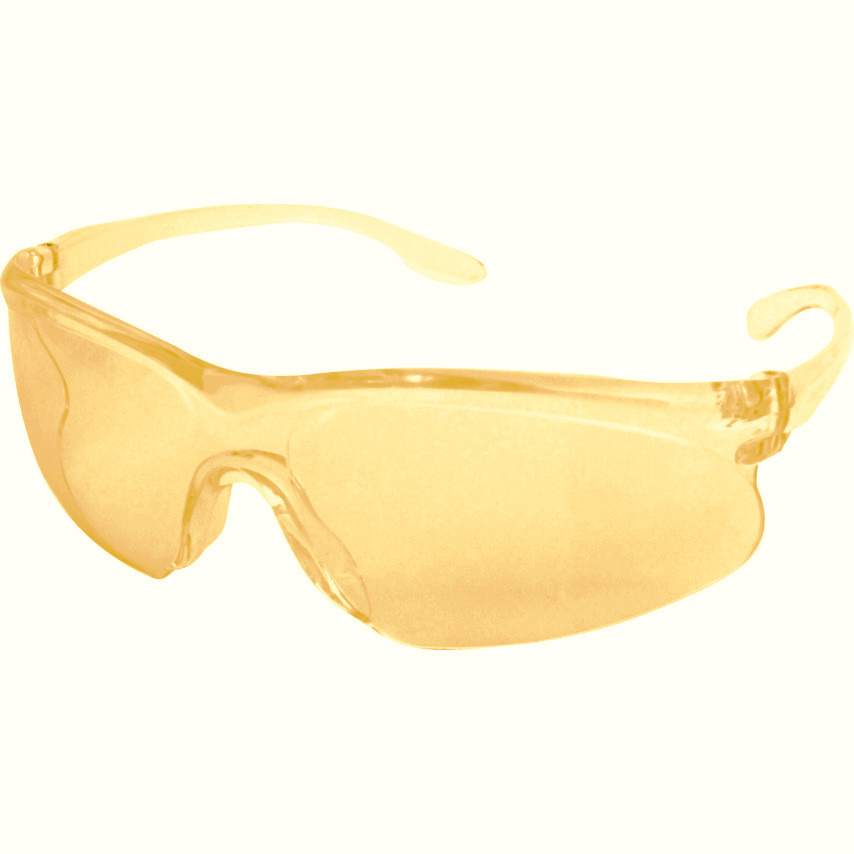 JSP Zenith Sodium HC Unisex Safety Spectacles Amber Lens