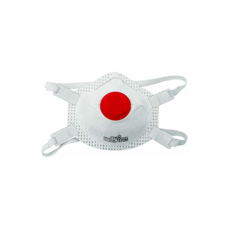 Arvello CDW-P3 Disposable Dust Masks Valved FFP3 - pack of 5