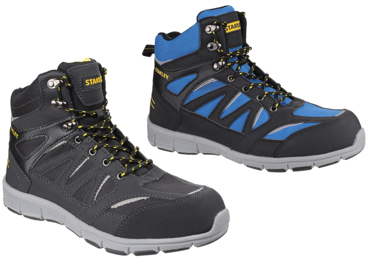 b601022cf17 Stanley Pulse Black S1 P Sports Steel Toe Cap & Midsole Safety Boot