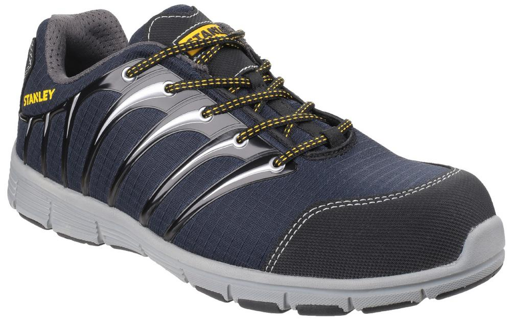 Stanley Globe Navy-Grey S1 P Sports Steel Toe-cap & Midsole Safety Trainer