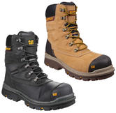 "Caterpillar Premier 8"" S3 HRO SRC Waterproof Composite Safety Boot"