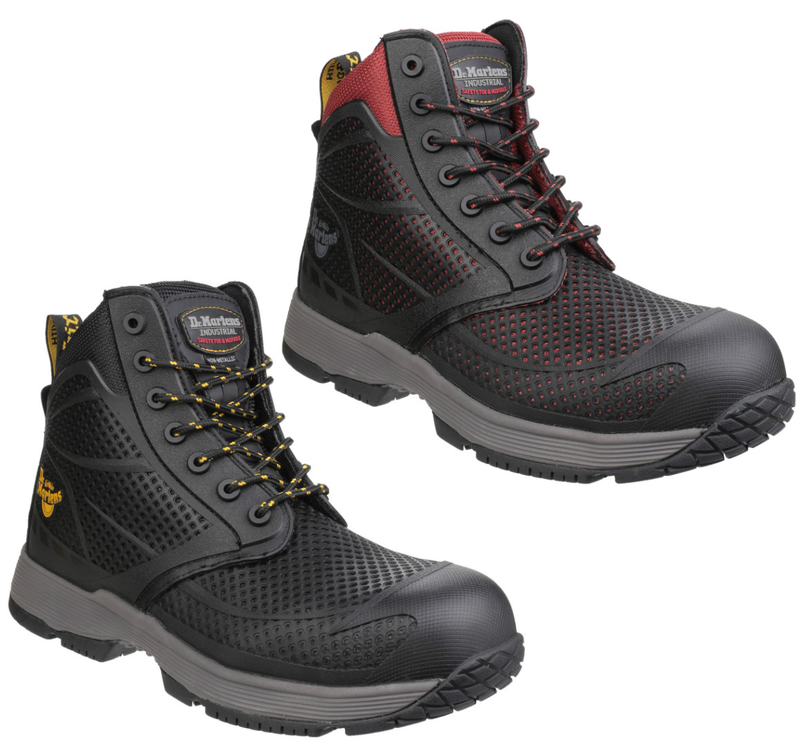 597530b2266 Dr Martens Calamus S1P Non-Metallic Lace up Safety Boot