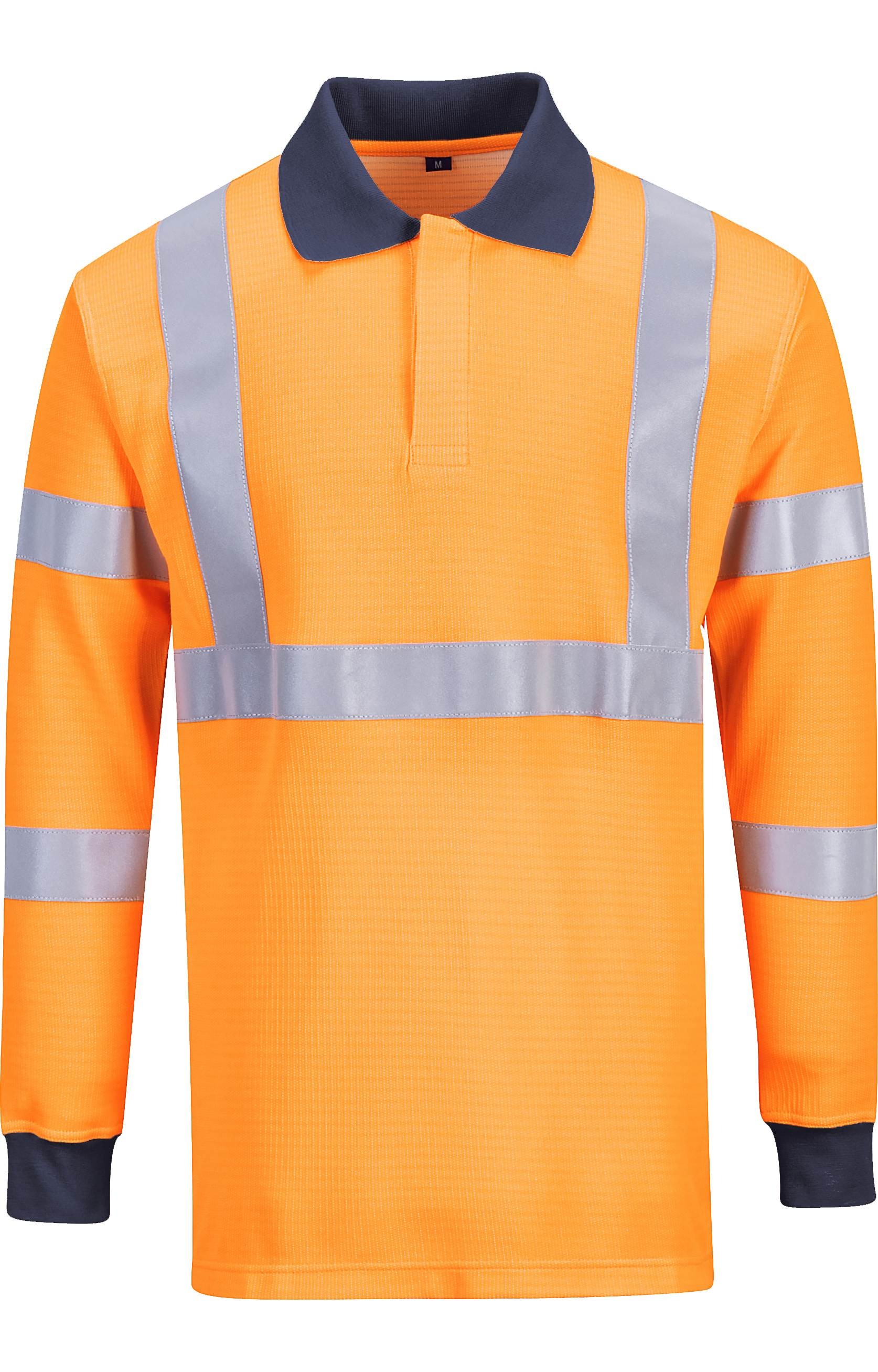 Portwest fr76 men polo shirt flame resistant hi vis for Flame resistant work shirts