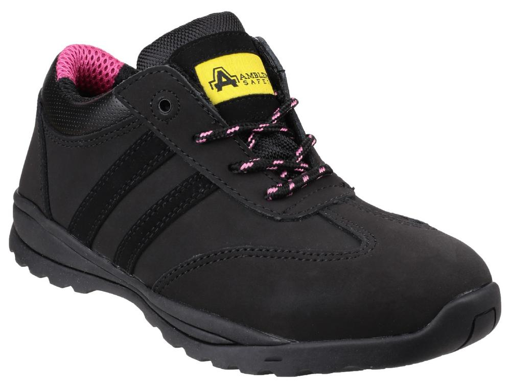 Amblers Safety FS706 Sophie Shoe Antistatic Lace up Safety Trainer