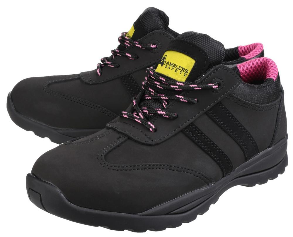 Amblers Safety FS706 Sophie Safety Shoe Black Size 6 5TTBv