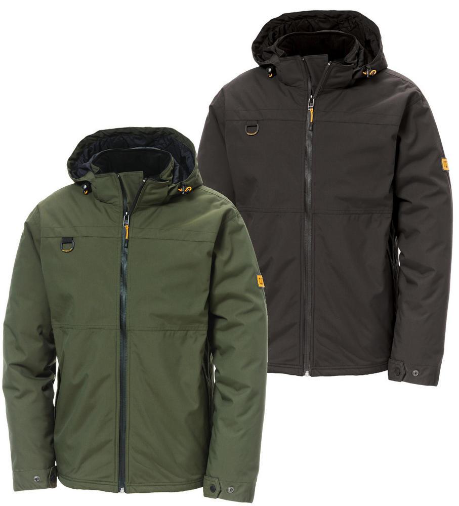 Caterpillar 1310017 Chinook Work Waterproof Hooded Rain Jacket