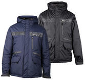 Caterpillar 1310006 Night Flash Mens Water Resistant Reflective Jacket