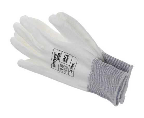 Polyco Dyflex 8824 Dyneema Cut Resistant PU Palm Work Gloves
