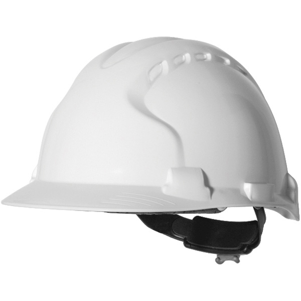 JSP EVO 8 Evolution Unvented HDPE Hard Hat Safety Helmet