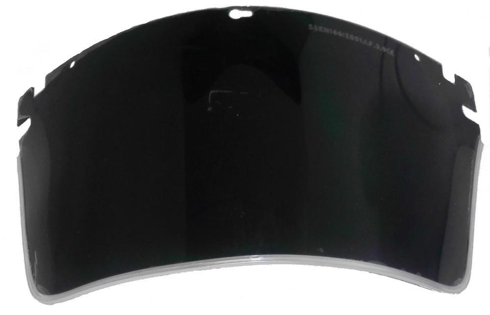JSP G-PVA-G5 Acetate Green Replacement Visor SH5