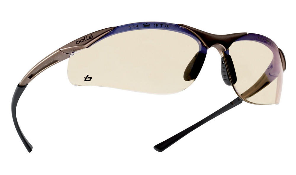 Bolle Contesp Contour Safety Spectacle with ESP Tinted Lens