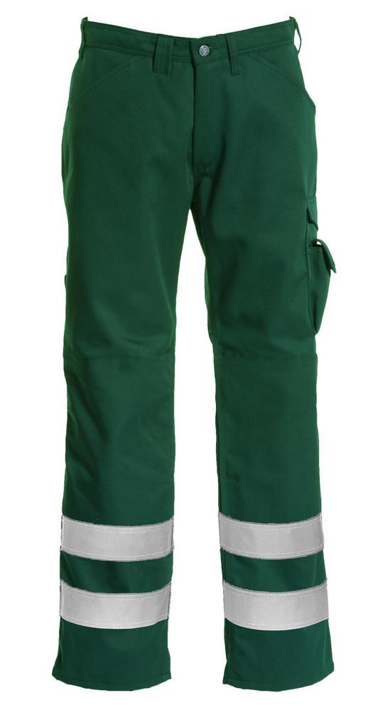 Tranemo 2920 Klopman Reflective Strips Antistatic Work Trousers Green