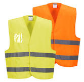 Portwest C475  Hi-Vis Vest Dual ID Holder