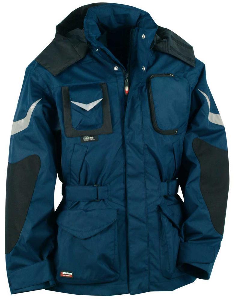 Cofra Icestorm Three Piece Parka Non Metal Detectable Winter PU Jacket