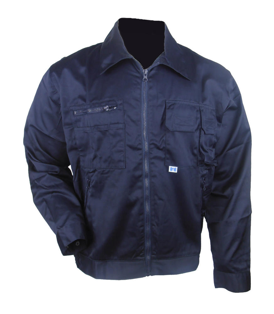 Castle Clothing 645 Men Work Jacket Driver Style Polycotton