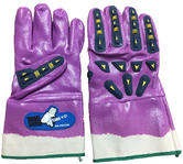 Roots MG8003 Core C6 Impact Glove OBM Protection, Purple - Size 10