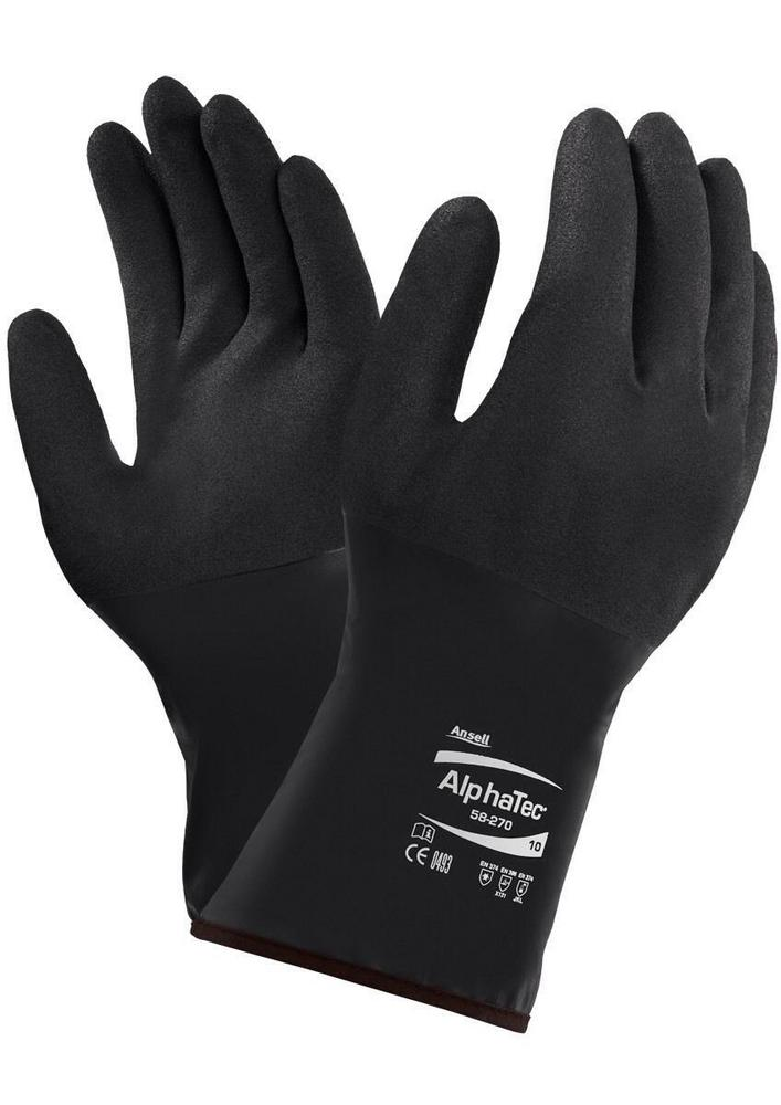 Ansell 58-270 Alpha Tec Gauntlet Chemical Protection Glove