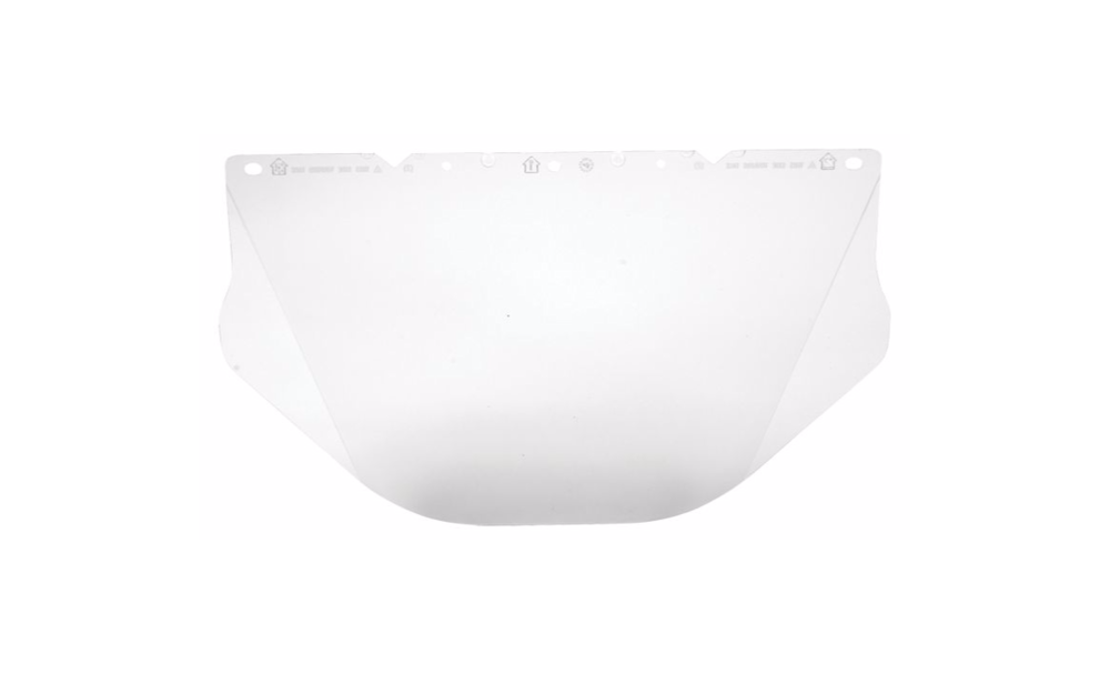 MSA 10115863 Visor Contoured Clear Polycarbonate for V-Gard Helmet
