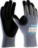 ATG MaxiCut 34-504 Oil Work Gloves Level 5 Cut Resistant Nitrile Palm Coated