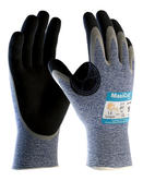 ATG MaxiCut 34-504 Palm Coated Puncture & Cut Resistant Oil Grip Safety Gloves