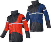 Sioen Cloverfield 4 in 1 Men Rain Hi Vis Parka Jacket with Detachable Bodywarmer