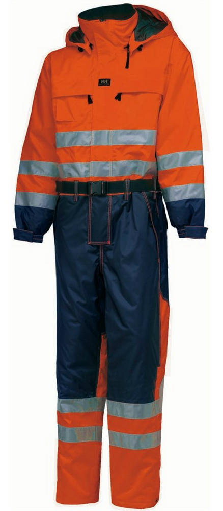 Helly Hansen 71676 Hi-Vis Ludvika Waterproof Windproof Coverall Hi Vis Orange, Size - C60\47""