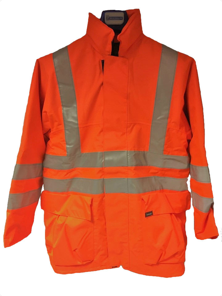 Seahawk Apparel 221 Fire Retardant Lined Hi-Vis Parka Jacket