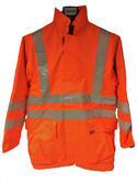 Seahawk Apparel 221 Fire Retardant Lined Hi-Vis Parka Jacket