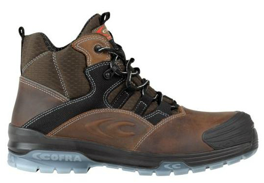 Cofra Goya Men Safety Hiker Boots Metal Free Nubuck S3 SRC