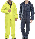 Beeswift B-Dry SBDCN Men Weatherproof Coverall Navy