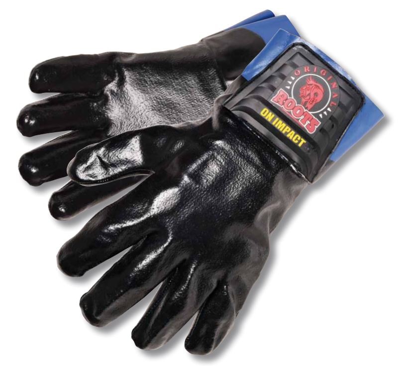 Roots RO8005 Men Impact Protection Work Gloves Cut Resistant Level 5