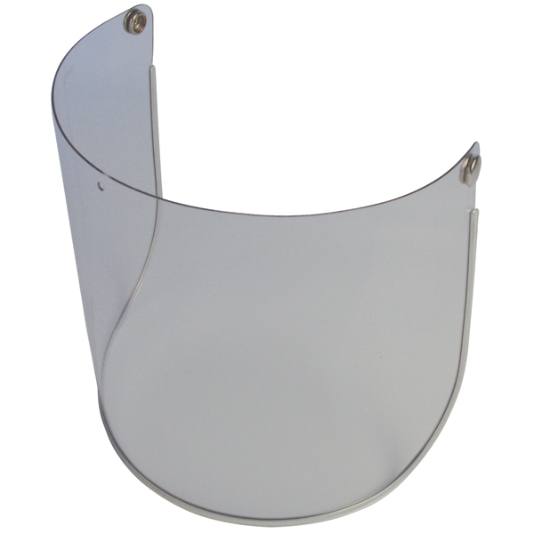 """JSP ANA010130000  8""""\20cm Spare Visor for Invincible Browguards Acetate Clear"""