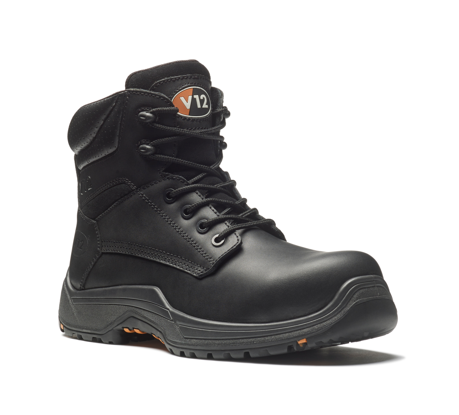 0d80066ce35 V12 VR600.01 IGS Bison Men Safety Derby Boot Metal Free Black