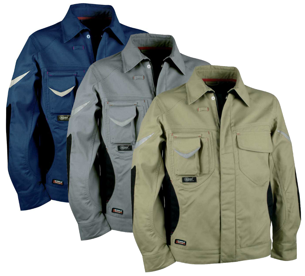 6c16bd5c1b5c Cofra Workmaster V011 Cordura Non Metal Detectable Jacket