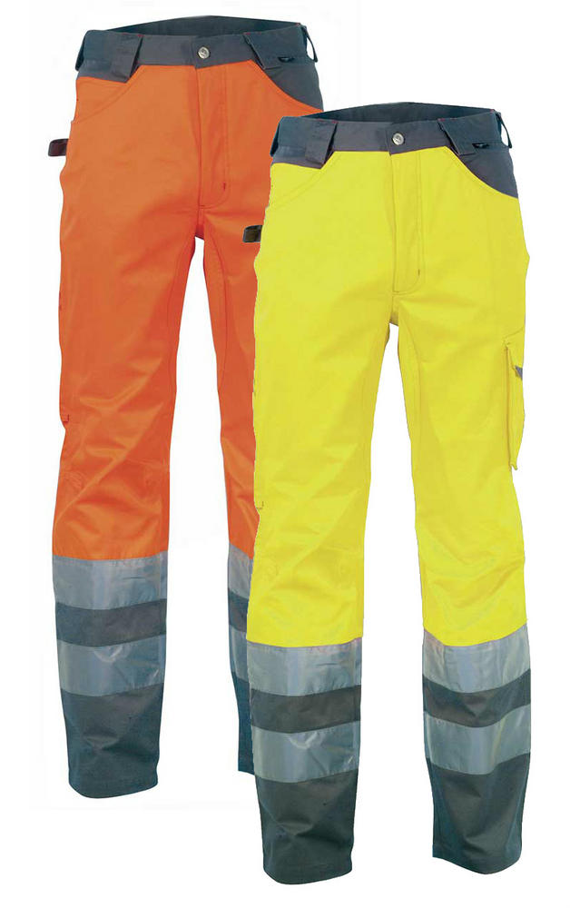 Cofra LIGHT V019 Polycotton Hi-Vis Trouser