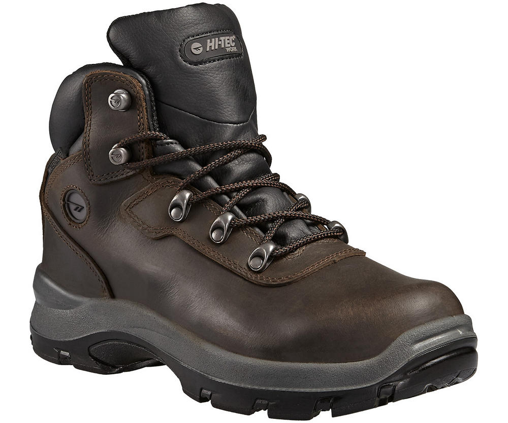 Hi-Tec Blaze Men Safety Hiker Boots Waterproof S3