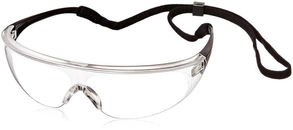 Honeywell Millennia 1005981 Wraparound Spectacles Anti-Scratch Clear Lens Safety Glasses