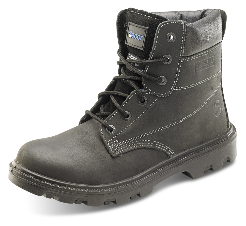 Click Footwear Sherpa SBBL Dual Density 6 Inch Safety Boot S3 SRC HRO