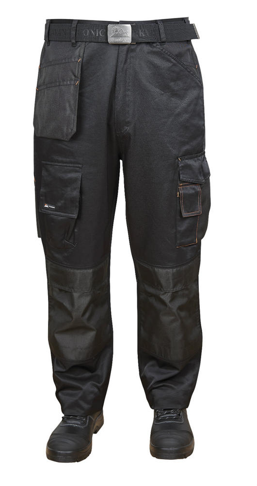 Himalayan Iconic Venom Multi pocket Work Trouser H813BK